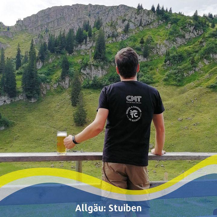 """Das Allgäu: der perfekte Ort für WanderfreundInnen. ? Andreas rät euch zu einer traumhaften Wanderung in die Allgäuer Alpen. ? Die bei Wanderfans beliebte Bergkette """"Nagelfluhkette"""" ist als Naturpark eingestuft und verbindet Deutschland m..."""