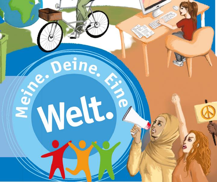 Bis zum 31. Oktober könnt ihr euch im Rahmen der #MeineDeineEineWelt Initiative bei Veranstaltungen und Aktionen rund um Eine-Welt-Themen beteiligen wie z.B.:  ➡️Pflanzentauschaktionen ➡️offene Bücherschränke ➡️Upcycling Workshops ➡️...