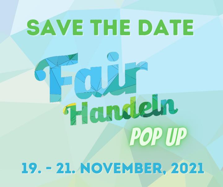 #WEAREBACK  Um die Wartezeit für die nächste #FAIRHANDELN Messe etwas zu verkürzen, haben wir ein kleines Herbst-Special für euch im Rahmen der Messe Stuttgart Herbstmessen vorbereitet.  Wir präsentieren den Fair Handeln #POPUP mit zertifizierten...