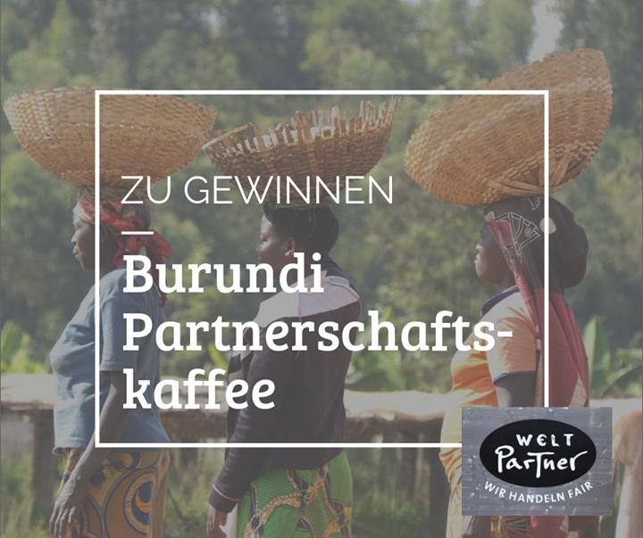 Bald geht die Fair Handeln endlich los! Um euch die Wartezeit etwas zu versüßen, verlosen wir in den kommenden Wochen wunderbare Preise. ?? Heute könnt ihr insgesamt 2 Pakete à 500g des ersten fair zertifizierten Kaffees ☕️ aus Burundi ge...