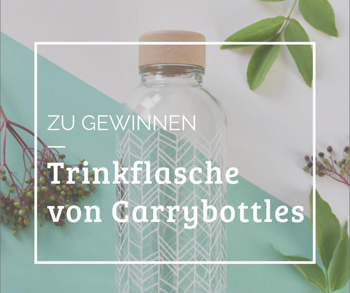 STAY HYDRATED. STAY HEALTHY. CARRY YOUR BOTTLE.  Füll dein Wasser überall ab, wo es Leitungswasser gibt, versorge dich jederzeit mit ausreichend Wasser und spare dabei jede Menge Müll. CARRY ist die moderne und nachhaltige Trinkflasche - und wir ver...