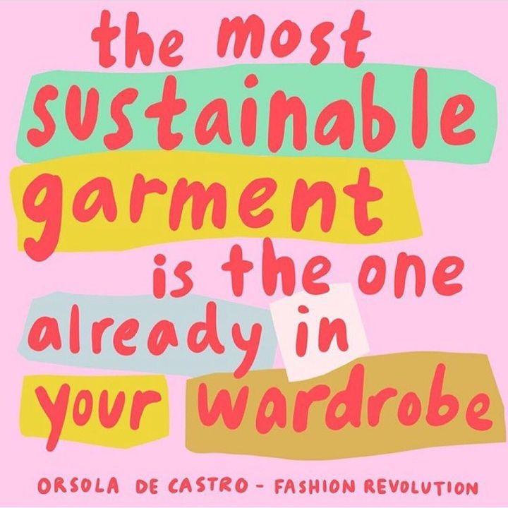 Die nachhaltigste Kleidung ist die in deinem Schrank. ?❤️ #fairhandeln #futurefashionbw