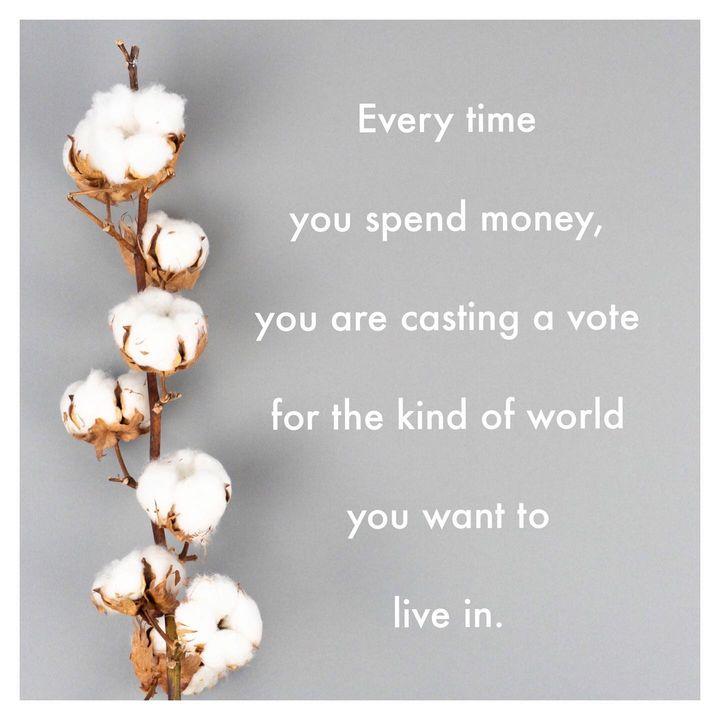 Wir alle können unsere Macht als Konsumentinnen und Konsumenten bei jedem Einkauf positiv nutzen - für die Welt, in der wir leben möchten. ✊? #fairhandeln #dieweltverändern