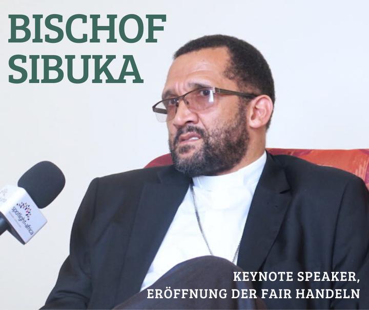 Tolle Neuigkeiten: Der südafrikanische Bischof Sithembele Sipuka spricht die Keynote bei der Eröffnung der Fair Handeln am Donnerstag, 16.04.2020! ?? Der Vorsitzende der Südafrikanischen Bischofskonferenz engagiert sich für mehr Demokratie, s...