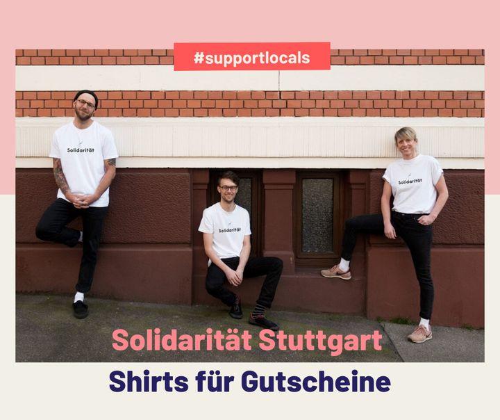 """#Solidarität! Drei Freunde wollen mit dem Instagram-Kanal """"Solidarität Stuttgart"""" die Locals im Kessel supporten – also Cafés, Bars, Shops der Stadt, die besonders von der Corona-Krise betroffen sind. Wie genau? Mit dem Verkauf von T-Shirts, w..."""