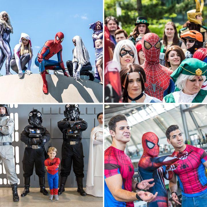 Wir halten am heutigen Spider-Man-Tag Ausschau, ob wir den Superhelden auf unserem Gelände sichten können.?? Schließlich hat er uns schon öfters besucht!? Spätestens zur nächsten Comic Con Germany im November sind er und viele andere Com...