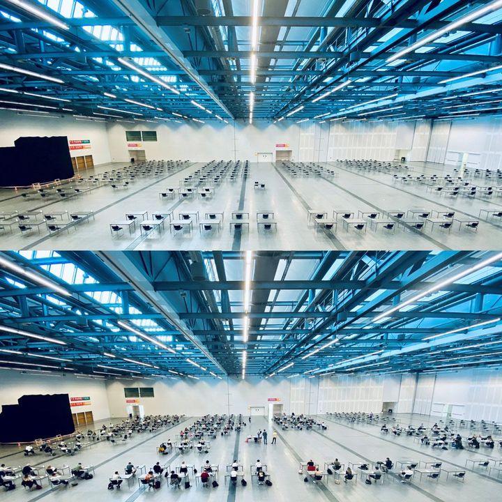 Es tut sich was auf der Messe:?  Die Universität Hohenheim nutzt unsere Räumlichkeiten im ICS für die Durchführung der Semesterprüfungen unter entsprechenden Hygienemaßnahmen.?? Wir drücken den knapp 6.000 Studierenden ganz fest die Dau...