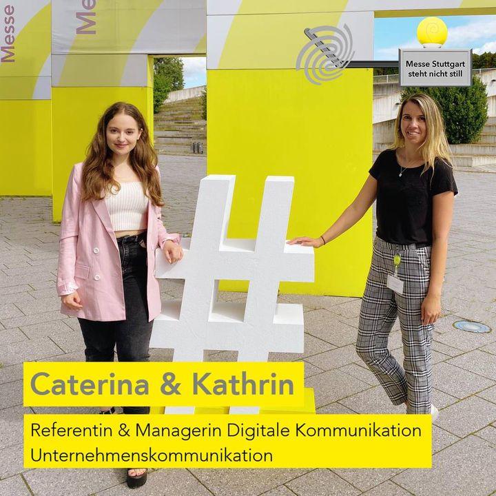 Die Messe Stuttgart steht nicht still! ? Auch unsere Kommunikation mit euch sowie unsere Social-Media-Kanäle stehen nie still. ?️ Damit ihr stets über uns und unsere aktuellen News informiert bleibt, kümmern sich Caterina & Kathrin um das So...