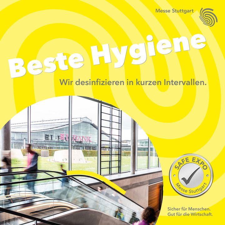 Neben guter Belüftung und Abstand, sorgen wir auch für beste Hygiene auf dem Messegelände.?? Das bedeutet konkret eine erhöhte Reinigungsfrequenz und ständige Desinfektion der sensiblen Bereiche.?? Zudem findet ihr auf unserem gesamten...