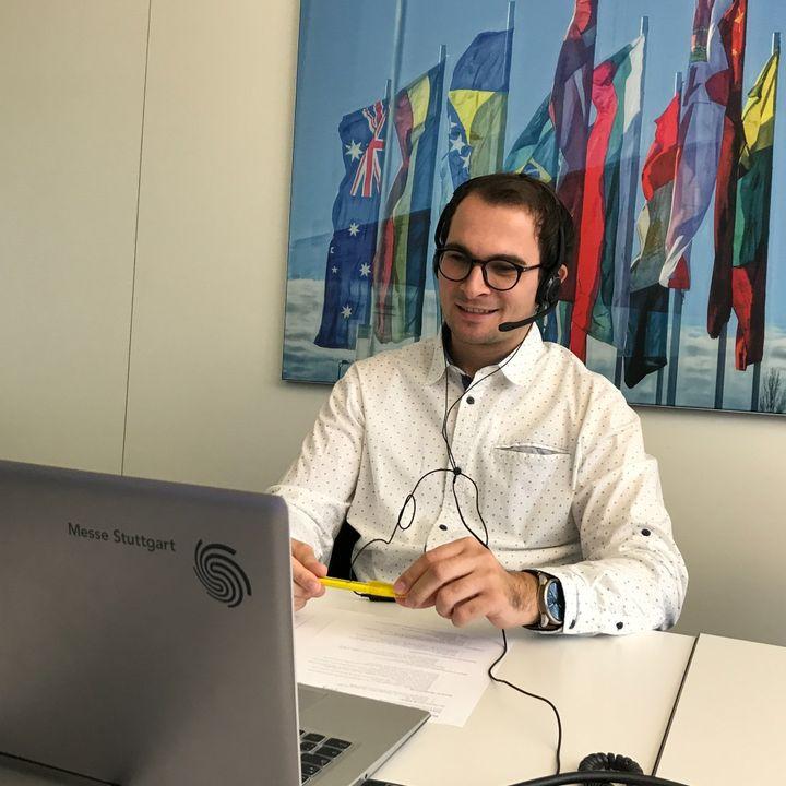 """Unsere eltefa - Fachmesse für Elektrotechnik & Elektronik - beschreitet medial neue Wege: ? Yannick Stäbler hat als Vertreter für das Projektteam der Veranstaltung einen Podcast aufgezeichnet.??  Konkret geht es dabei um das Thema """"Messen i..."""