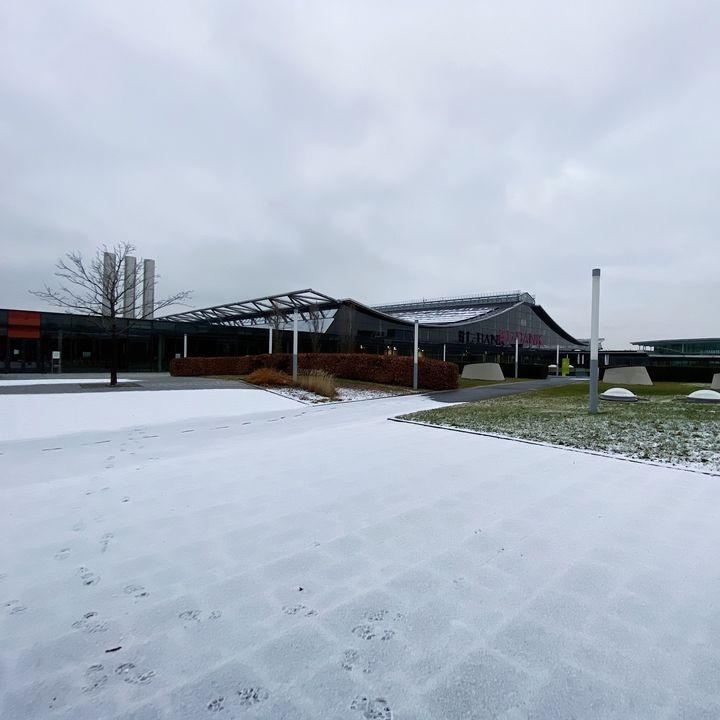 Winterliche Grüße aus unserem Rothauspark. ❄️ Wir wünschen euch allen im Ländle einen schönen und entspannten Feiertag. ⛄