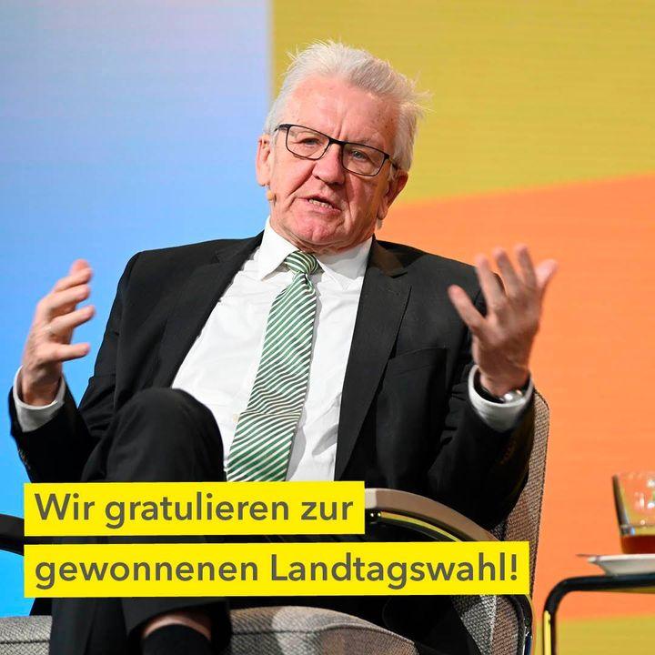 Wir gratulieren BÜNDNIS 90/DIE GRÜNEN und Winfried Kretschmann zur gewonnen Landtagswahl. Für die anstehenden Aufgaben wünschen wir Ministerpräsident Winfried Kretschmann alles Gute. Als Unternehmen, das zur Hälfte dem Land Baden-Württemberg geh...