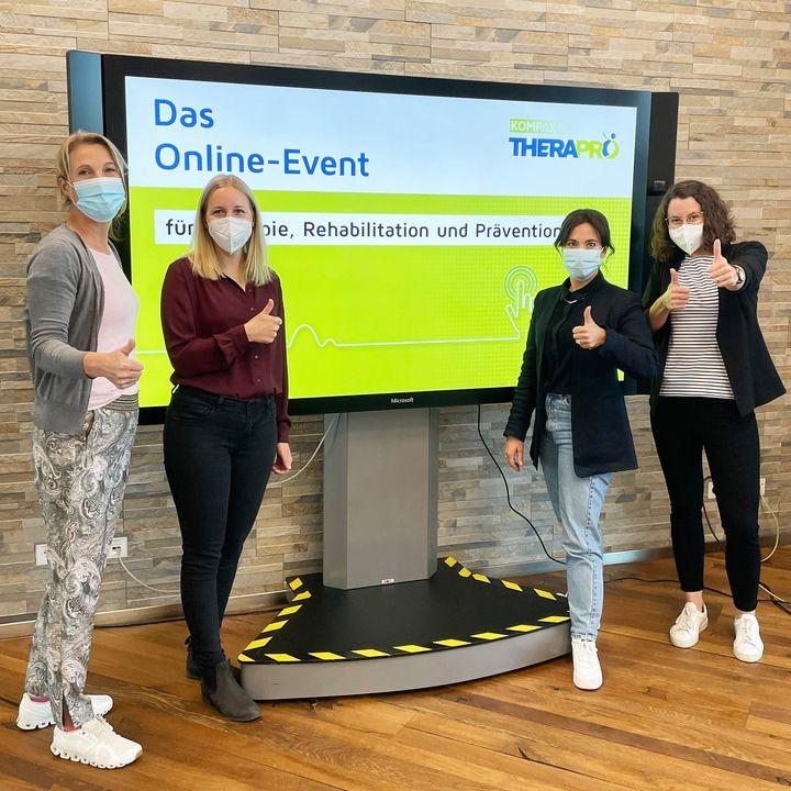"""Heute und morgen heißt es bei uns wieder """"3-2-1- live"""".? Mit der TheraPro Kompakt haben wir eine virtuelle Bühne geschaffen, um einen Austausch und die Wissensvermittlung rund um die Themen Therapie, Rehabilitation und Prävention zu fördern.?..."""