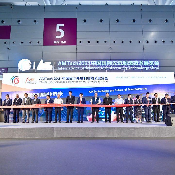 Gute Neuigkeiten gibt es auch bei unseren Auslandsmessen.?? Letzte Woche feierte die AMTech in Shenzhen erfolgreich Premiere. 200 AustellerInnen aus elf Ländern stellten auf der ersten Messe für fortschrittliche Fertigungstechnologie in China i...