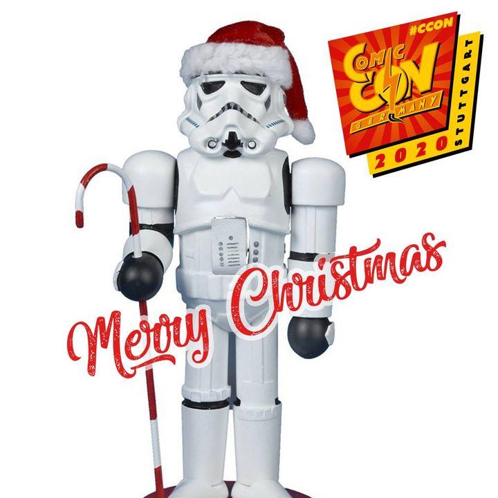 Wir hoffen der Weihnachtstrooper beschenkt euch reich! Unser Büro ist ab jetzt geschlossen und wir starten mit neuen Ideen am 07.01.2020 wieder. Wir wünschen Euch Frohe Weihnachten und einen guten Rutsch ins neue Jahr!