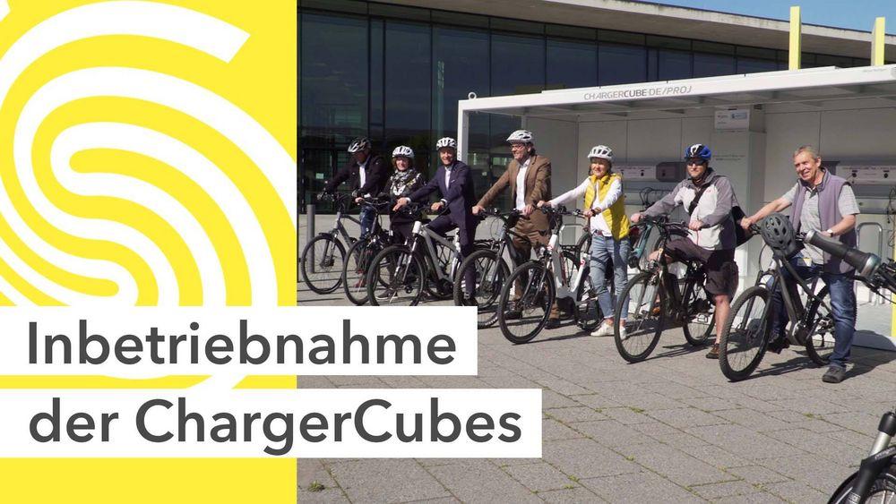 Volle nachhaltige Power: Wir haben zwei neue Ladestationen, die ChargerCubes, für E-Bikes & Pedelecs - am Eingang Ost & West! ? ? Fahrrad hineinstellen, abschließen, mit Schnelllade-Anschlüssen aufladen & los geht's! ? Die Nutzung ist dank...