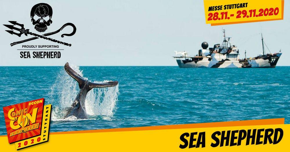 Sea Shepherd nimmt Kurs auf die CCON | COMIC CON GERMANY! Ziel ist es, die marine Tierwelt zu schützen, die Zerstörung von Lebensräumen und das Abschlachten der Tiere in den Weltmeeren zu beenden, um Ökosysteme und Spezies nachhaltig zu schützen u...