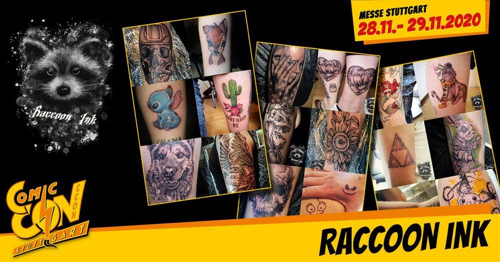 Eine Erinnerung an die CCON | COMIC CON STUTTGART, die im warsten Sinne des Wortes unter die Haut geht? Am Stand von Raccoon Ink findest du dein passendes Tattoo. Oder wie wäre es mit einem handbedruckten T-Shirt oder Artprints mit eigenen Designs? Da...