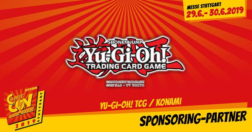 Auch das Yu-Gi-Oh! TRADING CARD GAME (KONAMI Europe) ist mit seiner Convention Tour wieder in Stuttgart dabei. SChaut vorbei und gewinnt tolle Preise!