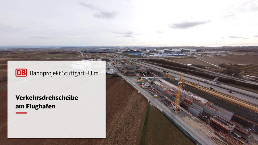 Auf unserem Gelände sind die Bauarbeiten für das Bahnprojekt Stuttgart-Ulm seit einer Weile im vollen Gange. Durch die Anbindung an die Fernbahn entsteht hier und am Flughafen Stuttgart eine einzigartige Verkehrsdrehscheibe. Das Video der Deutschen B...