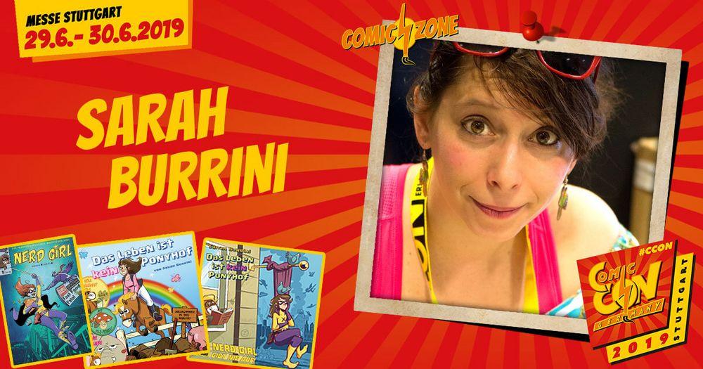 Das Leben ist kein Ponyhof, aber die CCON | COMIC CON GERMANY der perfekte Ort um mit Sarah Burrini @laburrini zum Thema Comics, nebenberuflicher Verbrechensbekämpfung und vielem mehr zu plaudern.