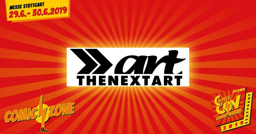 Auch THENEXTART hat seine Zeichner am Stand auf der CCON | COMIC CON GERMANY jetzt vollständig benannt.