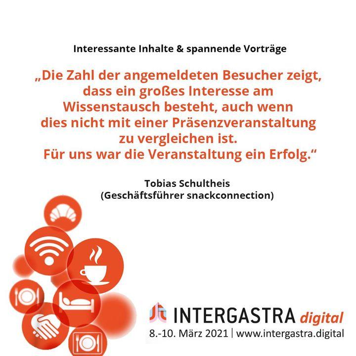 Interessante Inhalte und spannende Vorträge hatte die #INTERGASTRAdigital zu bieten. Zum Nachgucken haben wir die Talks auf unserer Website zur Verfügung gestellt. ➡️Alle Infos zur Veranstaltung auf www.intergastra.digital⬅️ #INTERGASTRAdigit...