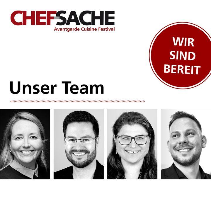 Das Team der diesjährigen CHEF-SACHE stellt sich vor. ?? #supportyourteam #teamwork #chefsache