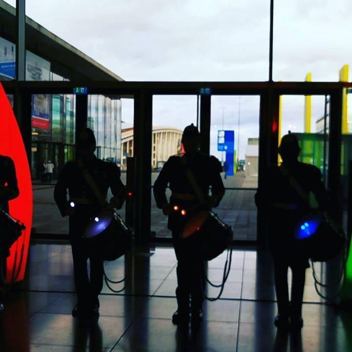 Ton an! Kleine Licht-Show-Einlage der #militaries @ikaolympics #ika2020 #olympiadederköche #Intergastra2020 #dabeiseinistalles #takingpartiseverything