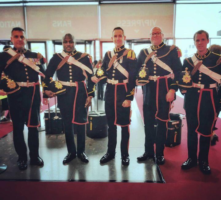 Das military team aus Great Britain hat sich besonders herausgeputzt. ? @ikaolympics #dabeiseinistalles #Intergastra2020 #IKA2020 #takingpartiseverything