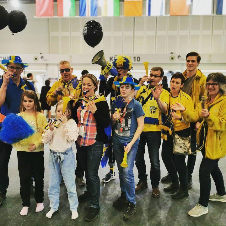 Stärkstes Fan-Team des 1. Messetages IKA/Olympiade der Köche ?? #sweden #dabeiseinistalles #ika2020 #goforgold #intergastra2020