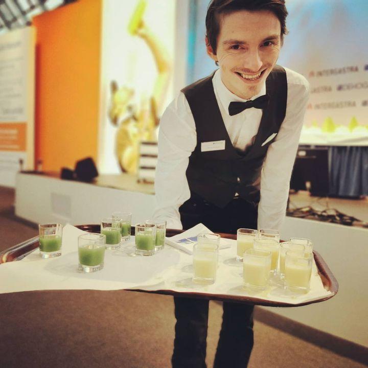 Auf der DEHOGA-Bühne werden die verschiedenen Berufe im #Gastgewerbe vorgestellt. ??????? #intergastra2020 #dehogabw #dabeiseinistalles #nachwuchsförderung #Fachkräfte DEHOGA Baden-Württemberg