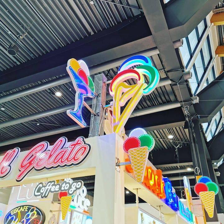 Ward ihr schon mal auf der Gelatissimo, der größten Eisfachmesse Europas? 150 Aussteller präsentieren hier ihre neuesten Ideen und Konzepte zur Speiseeisherstellung. ?? #eis #Gelatissimo #fachmesse #gelato #gelaterie #gelateria_icecream ##glat...
