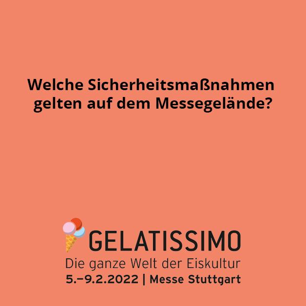 """""""Wir glauben an eine sichere und erfolgreiche Umsetzung der Messe"""", sagt Stefan Lohnert, Geschäftsführer der Messe Stuttgart. Damit die sichere Durchführung der GELATISSIMO 2022 möglich ist, wurde ein flexibles Hygiene- und Sicherheitskonzept e..."""