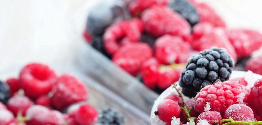 Tiefgefrorenes Obst von Rogelfrut