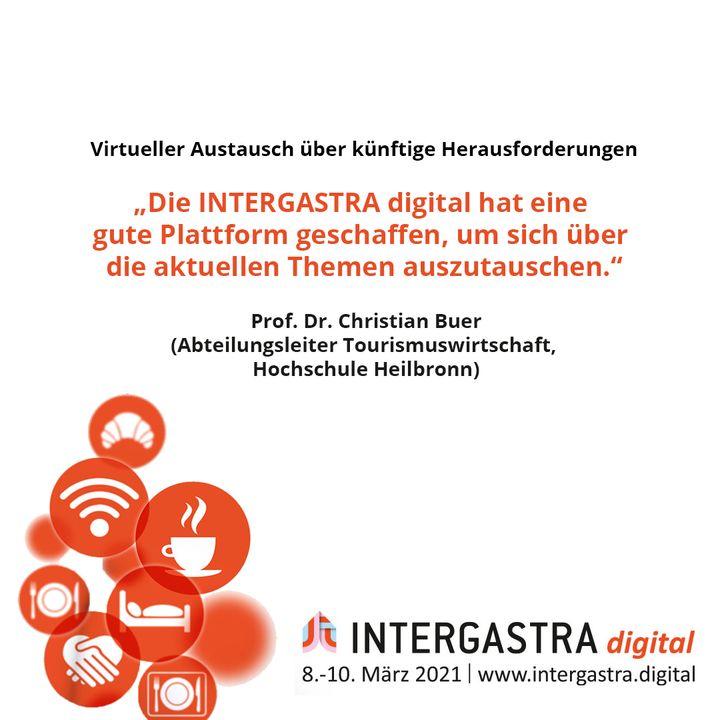 Die #INTERGASTRAdigital hat einen virtuellen Austausch über zukünftige Herausforderungen und Chancen ermöglicht. ? ➡️Alle Infos zur Veranstaltung auf www.intergastra.digital⬅️ #INTERGASTRAdigital2021 Hochschule Heilbronn