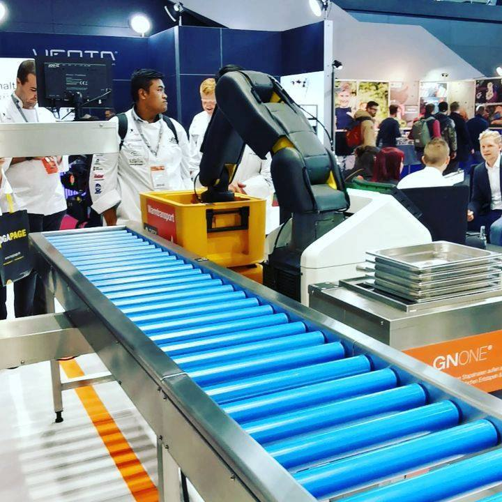 Bis 2030 ist zu erwarten, dass 50% der Arbeit in der Gastronomie über digitale Konzepte erleichtert oder direkt übernommen werden. Auf der Messe stellen wir die Konzepte der Zukunft vor. ? #Digitalisierung #Gastronomie #gv #dabeiseinistalles #Inte...