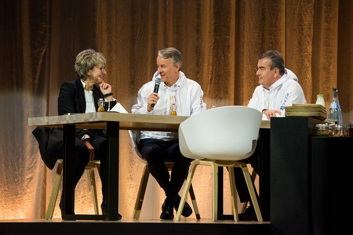 Die IKA Culinary Olympics sind gerade überall Thema - sogar auf der CMT - die Urlaubsmesse! ? Roland Bleinroth, Geschäftsführer der Messe Stuttgart, und Fritz Engelhardt, Vorsitzender des DEHOGA Baden-Württemberg, gaben den Messebesuchern einen...