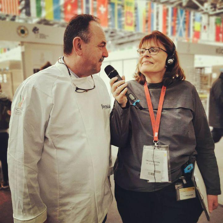 Behind the scenes bei den IKA/Olympiade der Köche: Wir begleiten heute den Press Walk mit Aina. #dabeiseinistalles #IKA2020 #presswalk #intergastra2020 IKA Culinary Olympics