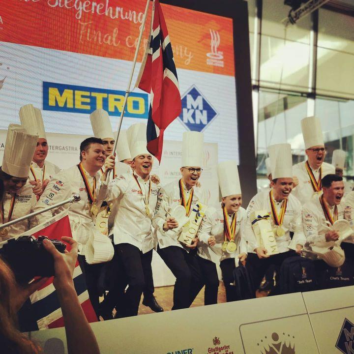 """Norwegen holt sich den Sieg und darf sich über den Titel """"Olympiasieger der Köche"""" freuen. Gratulation! ?? #intergastra2020 #dabeiseinistalles #takingpartiseverything #ika2020"""