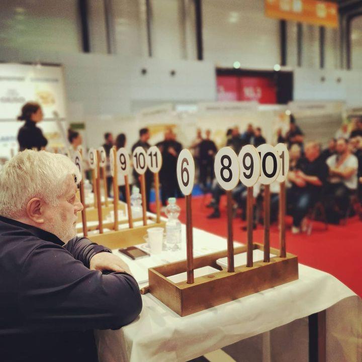 ?Beim 3. Grand Prix #Gelatissimo mussten die Teilnehmer Eis in den Geschmacksrichtungen Joghurt, Himbeer, Haselnus herstellen. ? #intergastra2020 #dabeiseinistalles #eis #grandprix