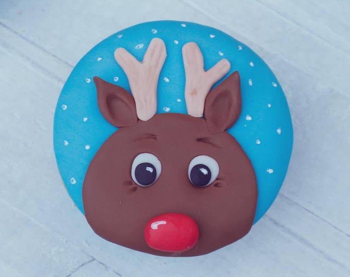 Sind sie nicht süß? ?  Weihnachtlich verzierte Muffins gibt's im Workshop mit Agnes backt - Sweet Cakes for Friends - Das große Backen 2016 auf der #cakeit18!