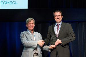 """Coherent-ROFIN-F&E-Team mit """"Best Paper Award"""" auf COMSOL-Konferenz ausgezeichnet"""