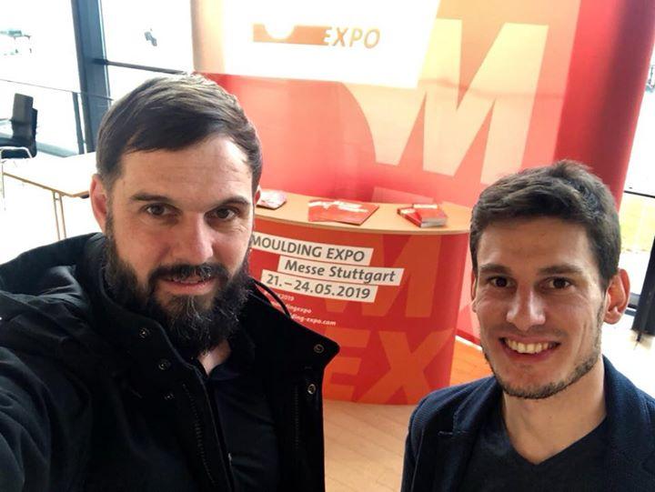 Flos on Tour?: Unser Duo ist in Österreich bei den Meusburger Werkzeug- und Formenbautagen! Premiere feiert übrigens unser schnicker #MEX2019 Stand ?.
