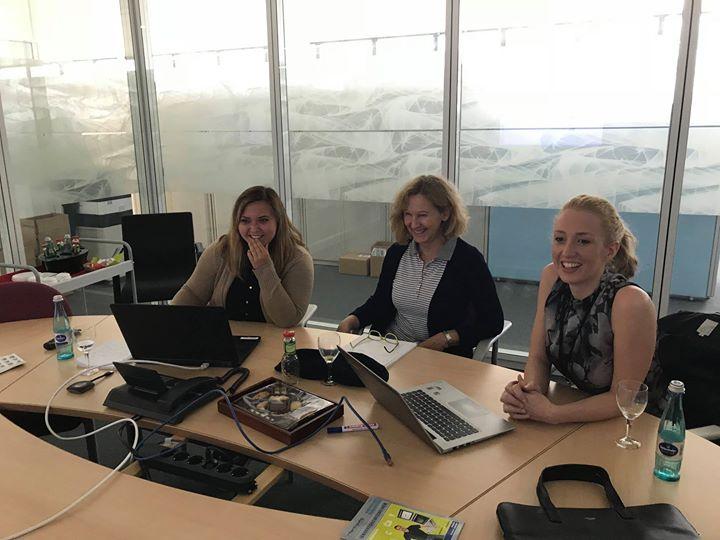 Gemeinsam mit Helga Neuß und Evelyn  Mahlik von werkzeug&formenbau arbeiten wir tatkräftig an unserem Konzept zum #MEXinsider. Seid gespannt! ?