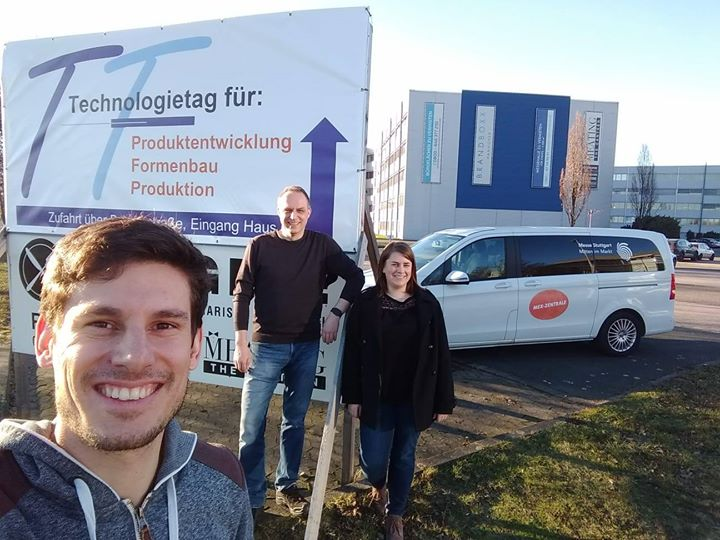 Rund 100 Unternehmen treffen sich heute auf dem 23. Technologietag - Brandboxx Hannover. Angi und Flo nutzen die Gelgenheit, um den interessanten Vorträgen zu lauschen, Aussteller und Besucher der #MEX2019 zu treffen und gemeisam mit dem VDWF - Verban...