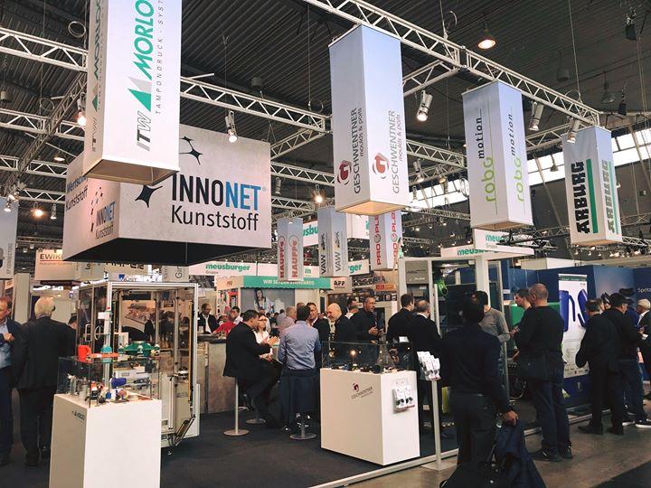 Beim Unternehmernetzwerk INNONET Kunststoff dreht sich alles um…na klar, Kunststoff! Auf der Sonderschau in Halle 7 (7D11) könnt ihr euch über die gesamte Wertschöpfungskette informieren, vom Formenbau über die Kunststoffverarbeitung bis hin zur...