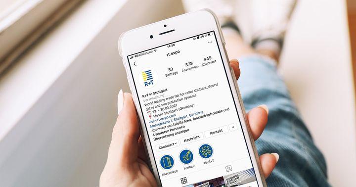 Schon gewusst? Wir sind jetzt auch bei Instagram ? Für noch mehr Infos rund um die R+T, spannende Einblicke in unsere tägliche Arbeit sowie weitere interessante R+T Facts, folgt uns am besten gleich jetzt! ?https://www.instagram.com/rt.expo/
