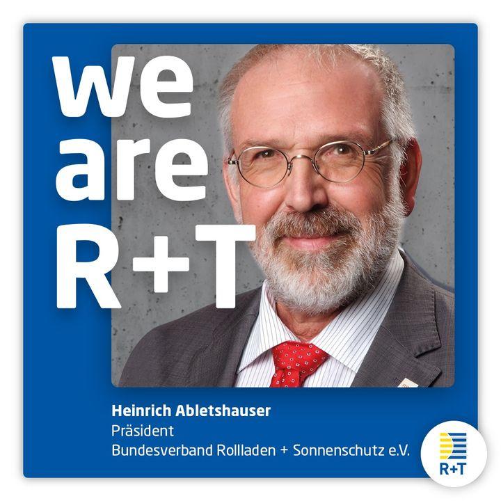 Seit Mittwoch ist klar: Die nächste Ausgabe der R+T – Weltleitmesse für Rollladen, Tore und Sonnenschutz – wird verschoben und findet vom 21. bis 25. Februar 2022 statt. Diese Entscheidung wurde gemeinsam mit der Branche getroffen, denn WE ARE R+...