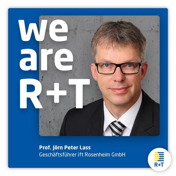 """Neben all den namhaften Ausstellern, befürworten auch Partner der R+T, wie das ift Rosenheim, die Verschiebung der Weltleitmesse auf 2022. Prof. Jörn Peter Lass, Geschäftsführer ift Rosenheim GmbH: """"Die R+T ist DIE Messe für die Sonnenschutz- und..."""
